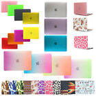 For Mac Air 13 11 Retina 12 Pro 13 15 Laptop Rubberized Hard Case Cover Shell
