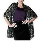 Joan Rivers Luxe Crochet and Sequin Wrap~A220439~Choice of Colors