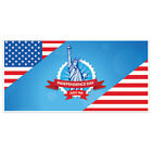 Patriotic Flag and Liberty Happy 4th of July Party Banner Decoration
