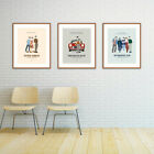John Hughes - Movie Poster, Ferris Bueller, The Breakfast Club, Sixteen Candles