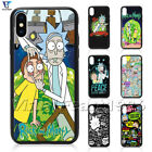 Rick and Morty Phone Case Cartoon Anime For iPhone iX 8 Plus 7/6s Plus SE Cover