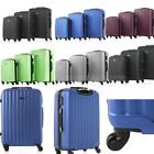 Hardside 3Piece Nested Spinner Luggage Set Carry On Suitcase (20, 24, & 28 Inch)