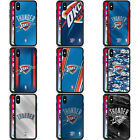 OFFICIAL NBA OKLAHOMA CITY THUNDER BLACK HYBRID GLASS CASE FOR iPHONE PHONES on eBay