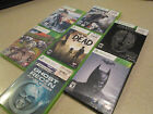 SEVEN (7) X-BOX 360 GAMES LOT - AWESOME TITLE GAMES WITH CASES