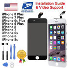 LOT White Black LCD  Touch Screen Digitizer for iPhone 5 5c 5s SE 6 6s 7 8 Plus