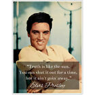 Elvis Presley Motivation Quote Wall Art Poster
