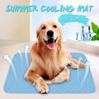 Pet Dog Cat Cooling Gel Mat Bed Summer Heat Relief Non Toxic Cushion Pad US