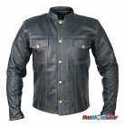 Leather Motorcycle Jacket Dare Rider™ Signature Range Straight Fit Jacket