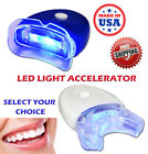 NEW LED UV LASER PLASMA TEETH WHITENING LIGHT ACCELERATOR BLUE WHITE HANDS FREE