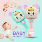 Lovely Baby Hand Bells Toys Puzzle Music And Light Shaking Rattles 0-12 Months