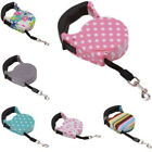Dog Leash Tape Cute Retractable Cord Nylon Walking Lead Rope For Pet Cat Puppy