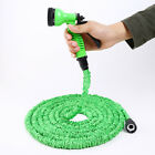 Expandable Garden Lawn Hose Nozzle Head Water Sprayer Green 7 PATTERNS!
