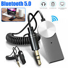 Wireless Bluetooth 5.0 Receiver 3.5mm USB Car AUX Audio Stereo Handsfree Adapter