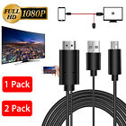 USB MHL to HDMI Cable TV Out Lead 1080p for Android Samsung LG HTC Phones New