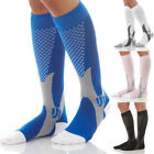 Calf Compression Varicose Vein Stockings Travel Leg Pain Relief Flight Socks