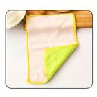 Anti Grease Cloth Bamboo Fiber Washing Towel Magic Kitchen Cleaning Wiping Rags