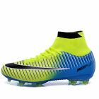 Men's Fashion Soccer Shoes Football Sneakers Cleats Professional Sport Boots