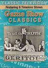Game Show Classics - Featuring Six Timeless Shows (DVD) NEW