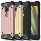 For Motorola Moto E5 Play / E5 Cruise Case, Rugged Armor Shockproof Phone Cover