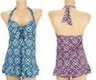 $121~Fit 4 U Hips Bandana Flip Swim Dress and Matching Briefs~A231119