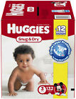 HUGGIES Snug Dry Diapers Pair Soft Pull-Up Diapers, New - Size 3, 222 Diapers