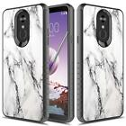 LG Stylo 4 / LG Stylo 4 Plus Case, Heavy Duty Shockproof Case + Screen Protector