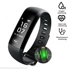 NEW Fit Smart Heart Rate Watch Blood Pressure Oxygen+ Sleep Monitor Wristband