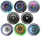 Team Dogz Hollow Core 110mm Chrome Stunt Scooter Wheel Solid Core Mixed PU x 1
