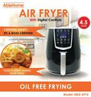 Electric Air Fryer 4.5 Qt 1350W Digital Timer Tempe Control...
