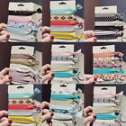 Women Colorful No Crease Hair Ties Bracelet Hair Rope Ponytail Fashion Hair Band