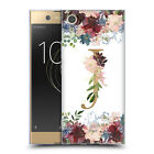 OFFICIAL NATURE MAGICK FLOWERS MONOGRAM FLORAL GOLD GEL CASE FOR SONY PHONES 1