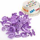 36~40PC Alphabet Letter Number Cookie Icing Cutter Cake Fondant Decorating Mould