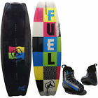 Fuel Respect 140 Wakeboard Package Hyperlite Rotation Wakeboardbindung