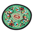Embroidery Floral Pattern Teapot Mat Ethnic Style Tableware Cup Mat  Decor 8C