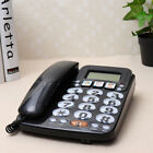 Corded Phone Big Button Landline Caller ID Desktop Home Telephone Desk Hotel Bar