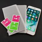 Privacy Tempered Sun-glasses OR Plastic Screen Protector Lot For Iphone 7 Plus