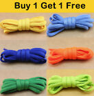 Candy Color Oval Shoelaces Sport Shoe Strings Athletic Sneaker Laces Buy 1 Get 1
