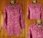 NEW EX WHITE STUFF PALE CRANBERRY PINK BIRD CAGE SUMMER TUNIC BLOUSE TOP UK 8-18