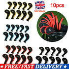 10Pcs Golf Clubs Iron Head Covers Headcovers with Zipper Long Neck Gift