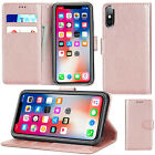 StoreInventoryfor apple iphone 7 8 plus xr xs 11 pro max leather flip wallet phone case cover