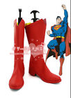 Superman Hero Cosplay Shoes Boots For Adult Costume Custom Made NN.1265
