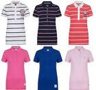 EX LADIES CREW CLOTHING  PURE COTTON SHORT SLEEVE POLO SHIRT TOP RRP £35-£45