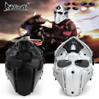 Tactical Airsoft Paintball Helmet And Mask 2in1Protective Gear Full Face