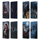 TIFFANY TOLAND-SCOTT VAMPIRE AND WEREWOLVES LEATHER BOOK CASE FOR SONY PHONES 1