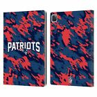 OFFICIAL NFL NEW ENGLAND PATRIOTS LOGO LEATHER BOOK WALLET CASE FOR APPLE iPAD