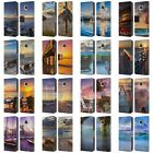 OFFICIAL CELEBRATE LIFE GALLERY BEACHES 2 LEATHER BOOK CASE FOR MOTOROLA PHONES
