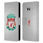 OFFICIAL LIVERPOOL FOOTBALL CLUB CREST 2 PU LEATHER BOOK CASE FOR HTC PHONES 1