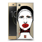 HEAD CASE DESIGNS AVANT GARDE FACES HARD BACK CASE FOR SONY PHONES 1