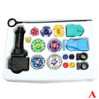 Beyblade Set Metall Fusion Top Arena Rapidity Fight Kampfkreisel Launcher Grip