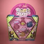 Squinkies Puppies Locket Suprize Inside Bubble Pack 14 Piece Surprise Jewelry